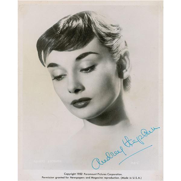 Audrey Hepburn Signed Photograph