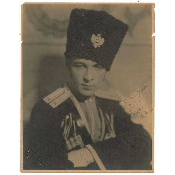 Rudolph Valentino Signed Photograph