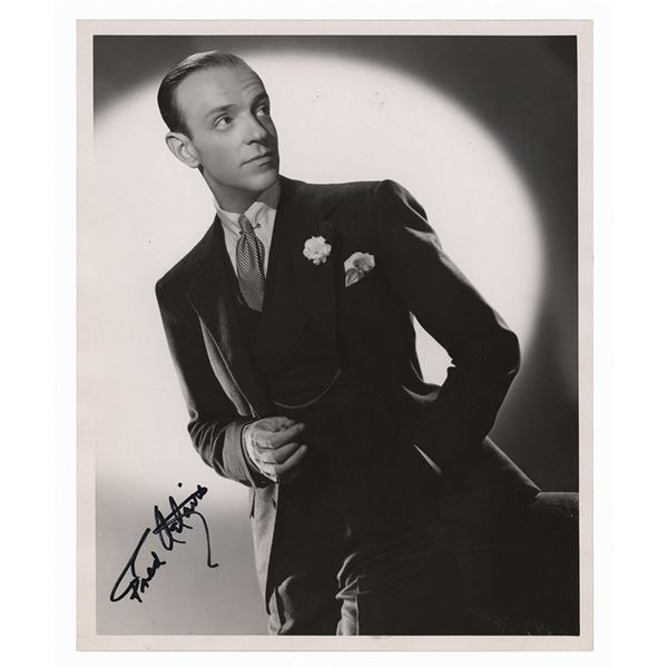 Fred Astaire Signed Photograph