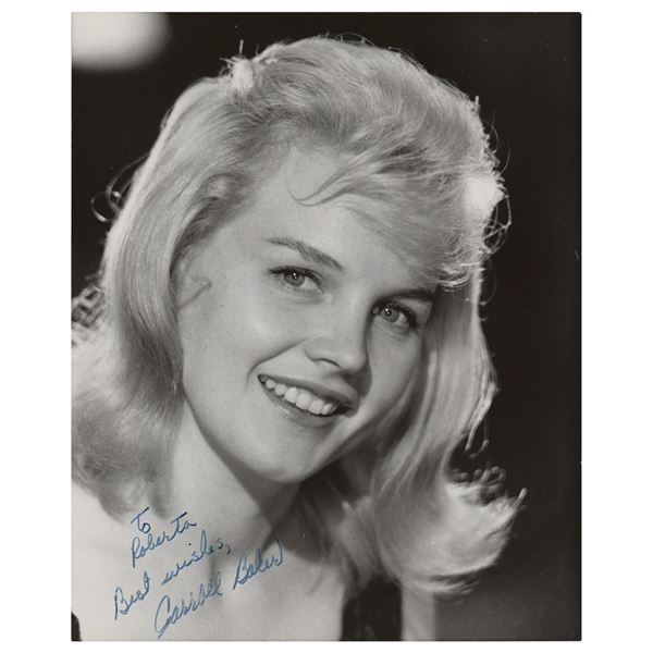 Carroll Baker Signed Photograph