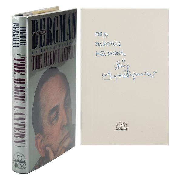 Ingmar Bergman Signed Book