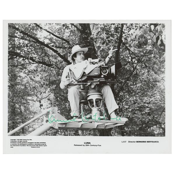 Bernardo Bertolucci Signed Photograph