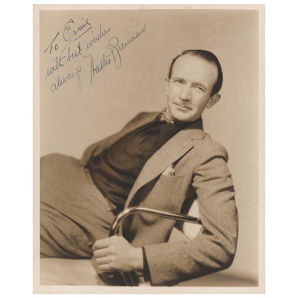 Walter Brennan Signed Photograph