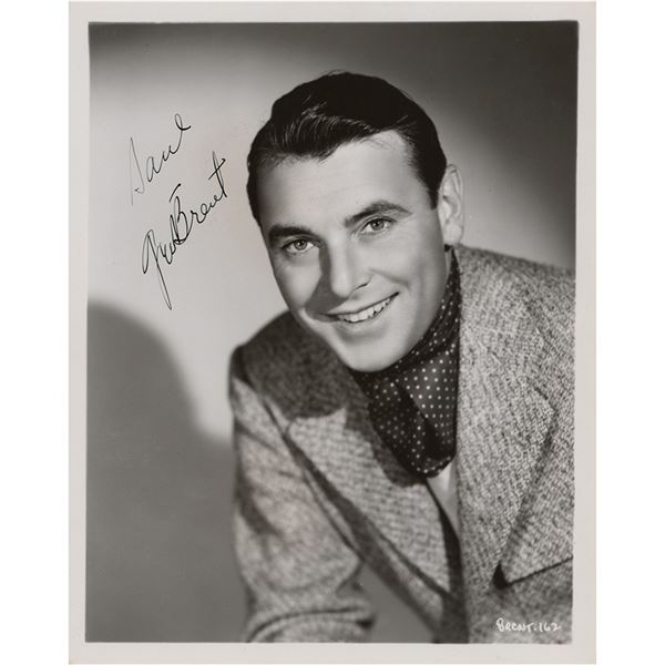 George Brent Signed Photograph