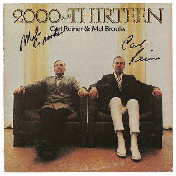 Mel Brooks and Carl Reiner Signed Album