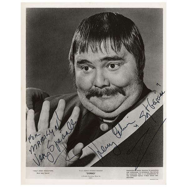 Henry Calvin Signed Photograph