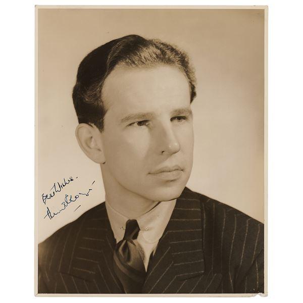 Hume Cronyn Signed Photograph