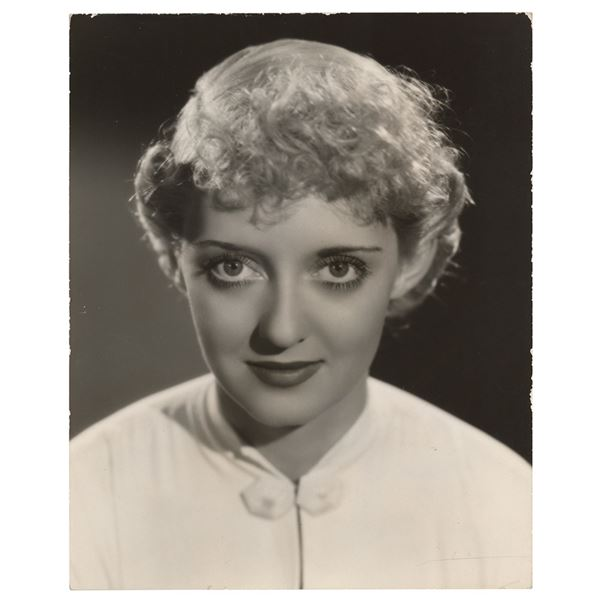Bette Davis Original Photograph by Scotty Welbourne