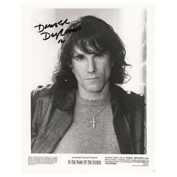 Daniel Day-Lewis Signed Photograph