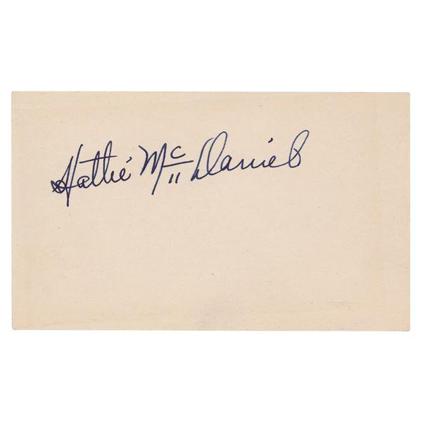 Gone With the Wind: Hattie McDaniel