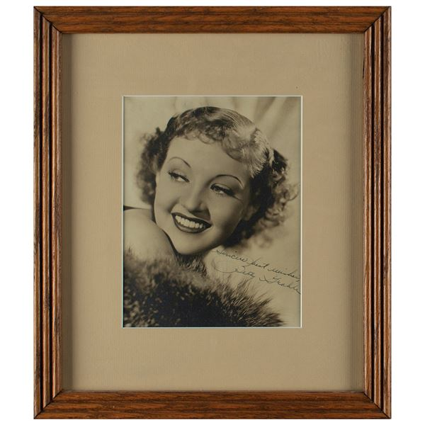 Betty Grable Signed Photograph