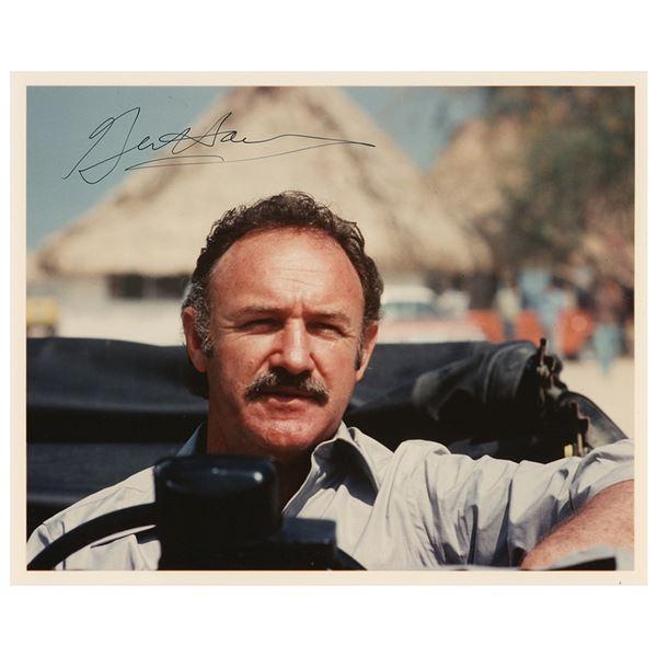 Gene Hackman Signed Photograph