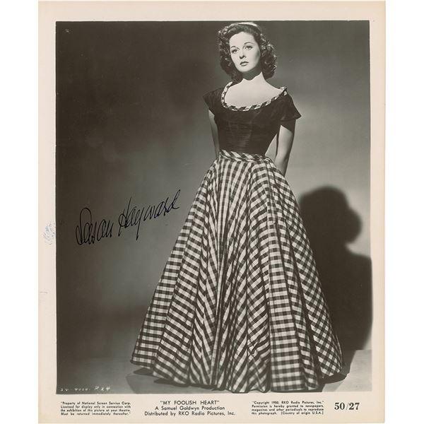 Susan Hayward Signed Photograph