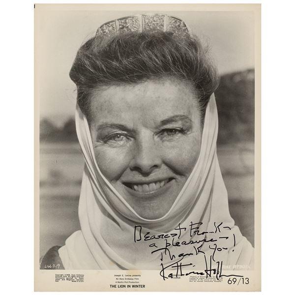 Katharine Hepburn Signed Photograph