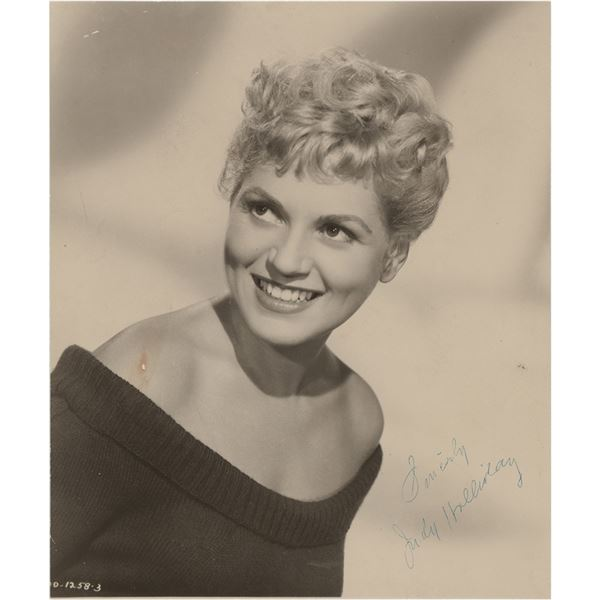 Judy Holliday Signed Photograph
