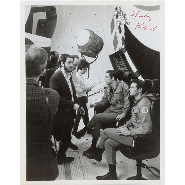 Stanley Kubrick Signed Photograph