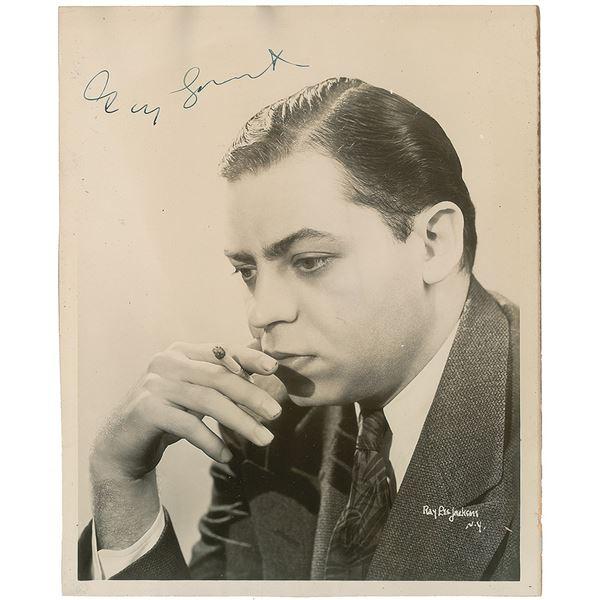 Oscar Levant Signed Photograph