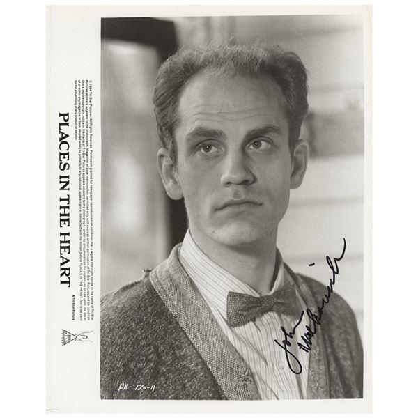 John Malkovich Signed Photograph
