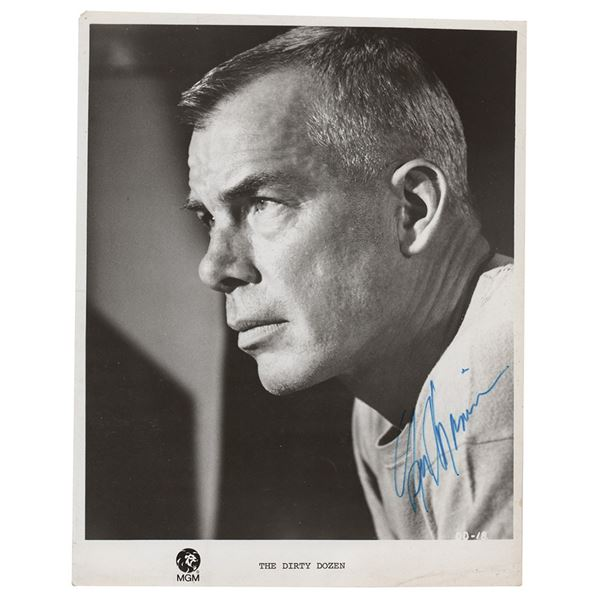 Lee Marvin Signed Photograph