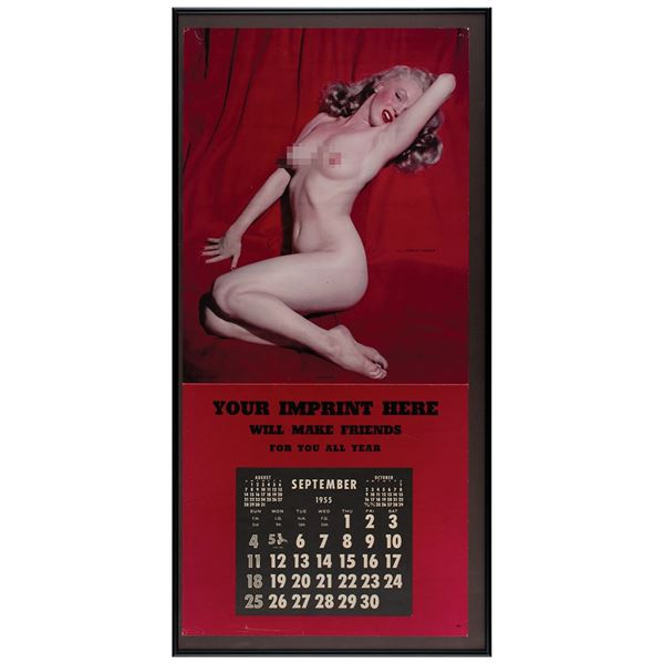 Marilyn Monroe 1955 'Golden Dreams' Calendar
