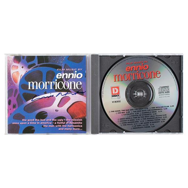 Ennio Morricone Signed CD