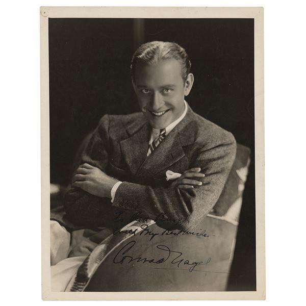 Conrad Nagel Signed Photograph