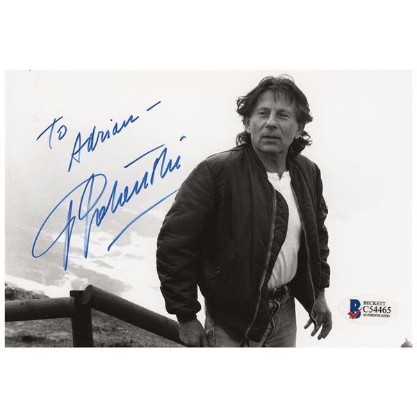 Roman Polanski Signed Photograph