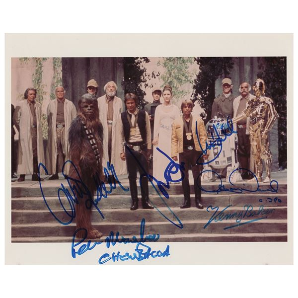 Star Wars Multi-Signed Photograph