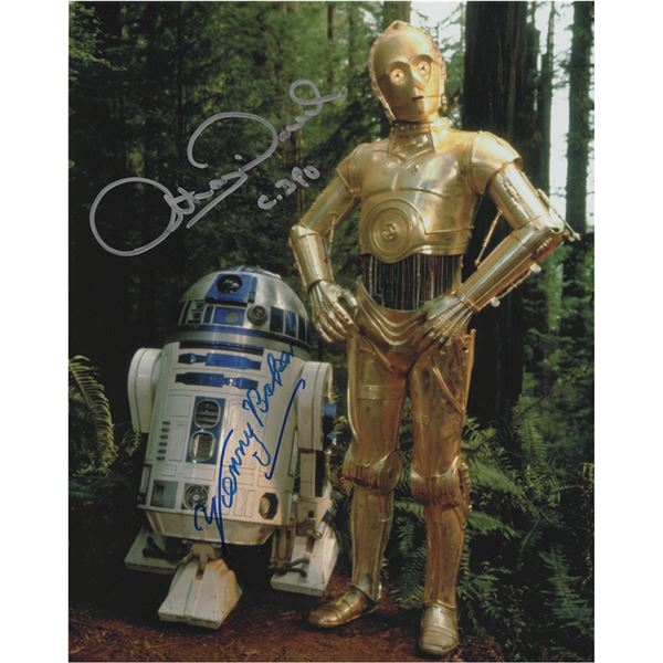 Star Wars: Baker and Daniels Signed Photograph