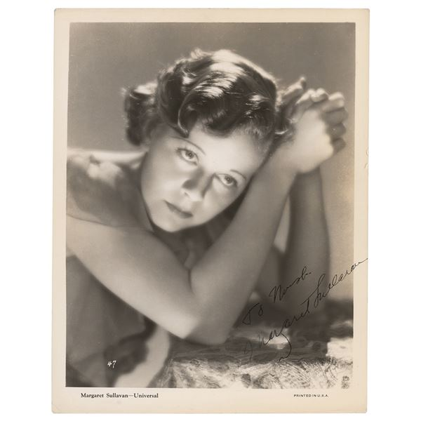 Margaret Sullavan Signed Photograph