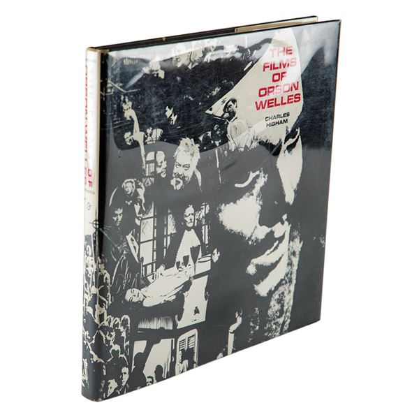 Orson Welles and Associates Signed Book