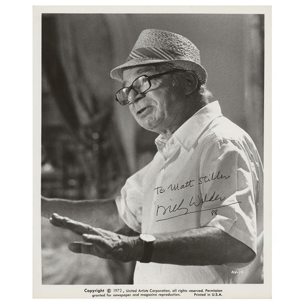 Billy Wilder (2) Signed Photographs