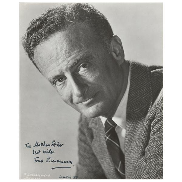 Fred Zinnemann Signed Photograph