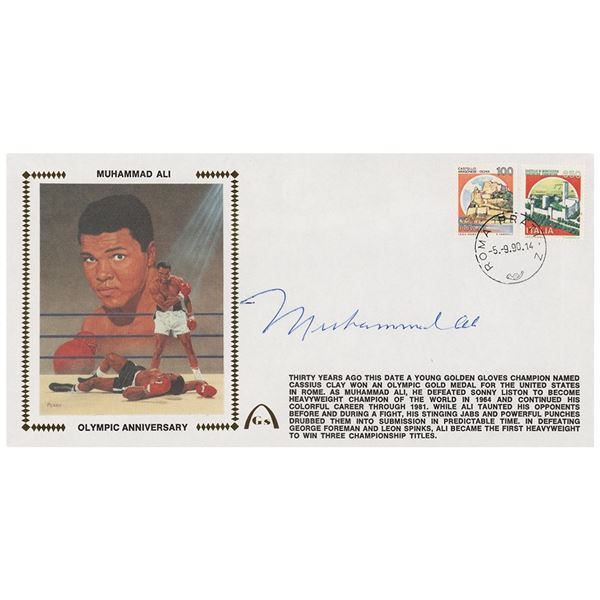Muhammad Ali Signed Cover