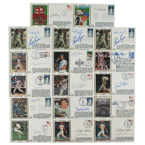 Baseball All-Stars (17) Signed Covers