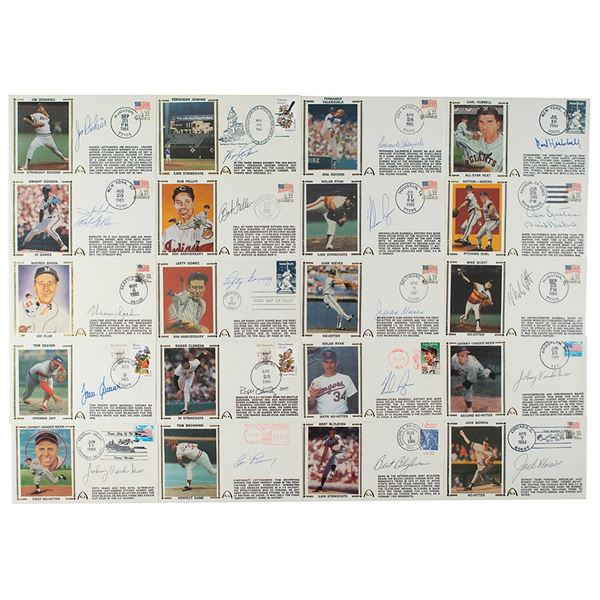 Baseball Pitchers (20) Signed Covers