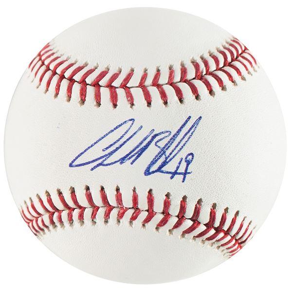 Charlie Blackmon Signed Baseball