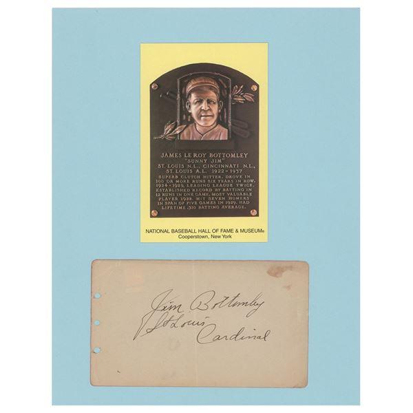 Jim Bottomley Signature