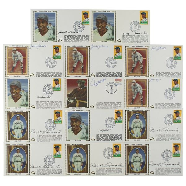 Negro League Hall of Famers (14) Signed Covers