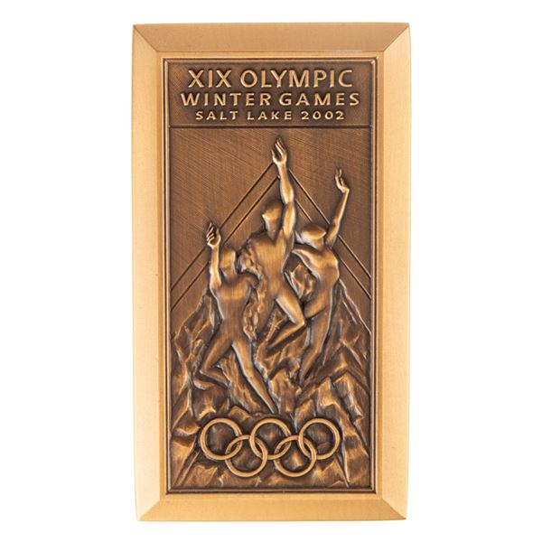 Salt Lake City 2002 Winter Olympics Participation Medal
