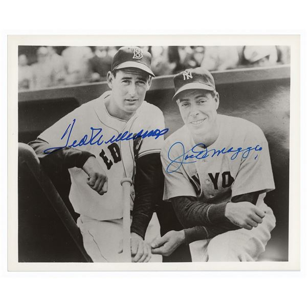 Ted Williams and Joe DiMaggio Signed Photograph