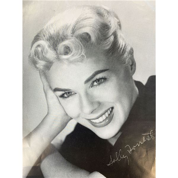 Sally Forrest signed photo