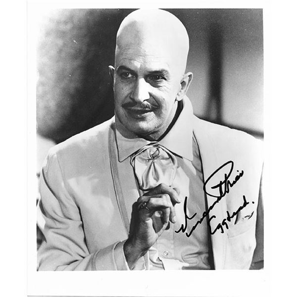 Vincent Price signed photo