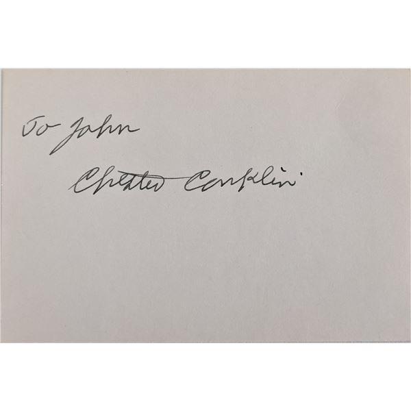 Chester Conklin Signature Cut