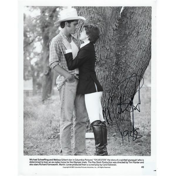 Melissa Gilbert Signed Photo