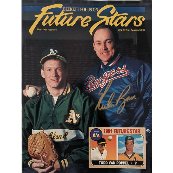 Nolan Ryan signed 1991 Future Stars Signed Magazine