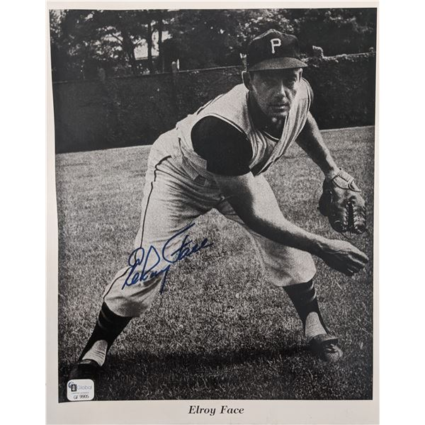 Elroy Face Signed Photo