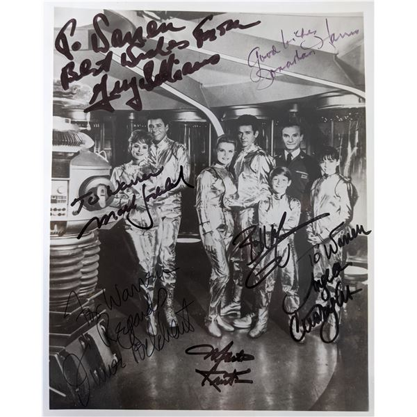 Lost In Space Cast Signed Photo