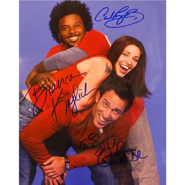 Rock Me Baby Dan Cortese, Bianca Kajlich, and Carl Payne signed photo