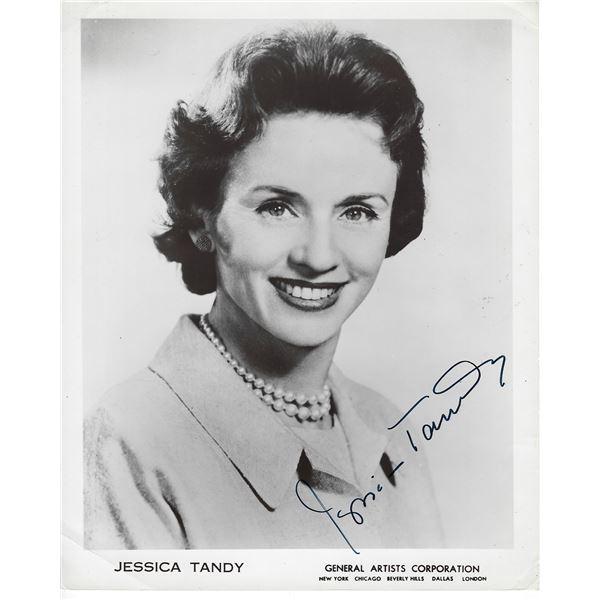 Jessica Tandy Signed Photo